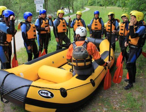Erfahrung und Qualifikation für sichere Raftingabfahrten