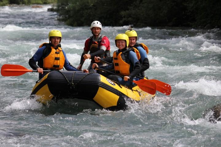 Rafting a Merano
