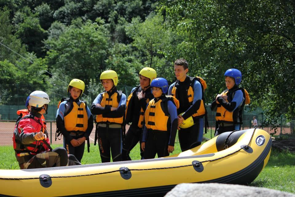 Briefing Rafting