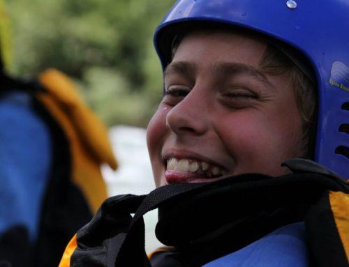 Auf in die Fluten: Katholische Jugendgruppe aus Bologna bei Südtirol Rafting Expeditions