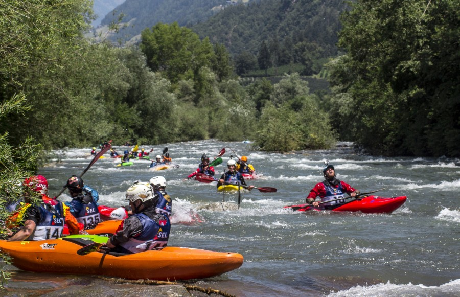Südtirol Rafting ist Partner von King of the Alps